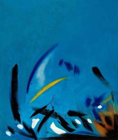 Bild No 115 Acryl auf Leinwand/Acrylic on canvas Format: 119x 100 cm