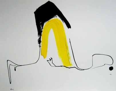 Frühe Arbeit- 1988-1990 Airbrushtusche/Acryl auf Papier