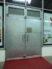 Eingangstür zum Fotostudio
