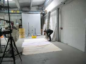 Vorbereitung...meine lieben Helfer...rechts ist der Fotograf, Jan Schmitz