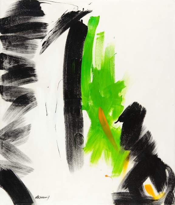 Bild No. 109 Acryl auf Leinwand/ Keilrahmen Format: 139x 120 cm