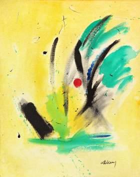 Bild No. 111 Acryl auf Hartfaserplatte Format: 100x 80 cm