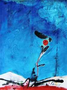 No. 342 Acrylic on canvas 80x 60 cm