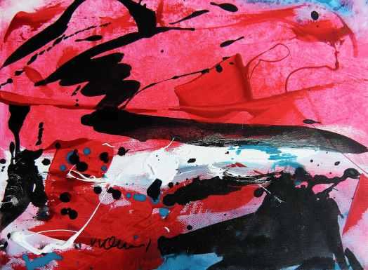 No. 346 Acrylic on canvas 40x 30 cm
