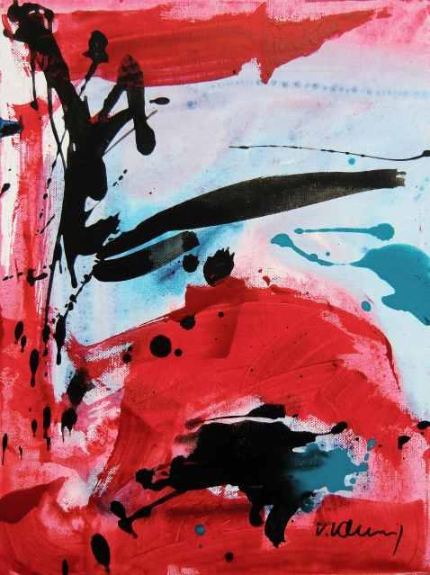 No. 347 Acrylic on canvas 30x 40 cm