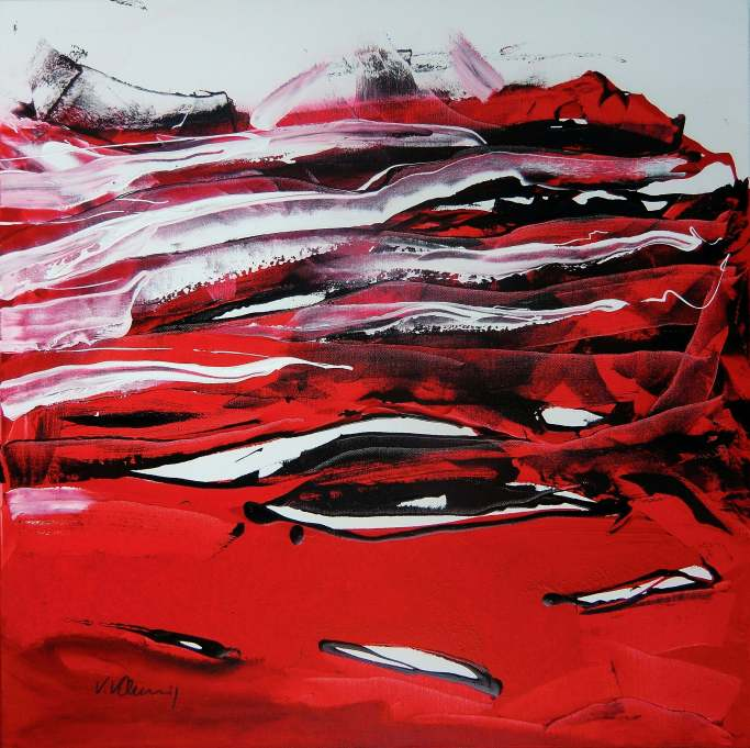 No. 364 Acrylic on canvas 80x 80 cm