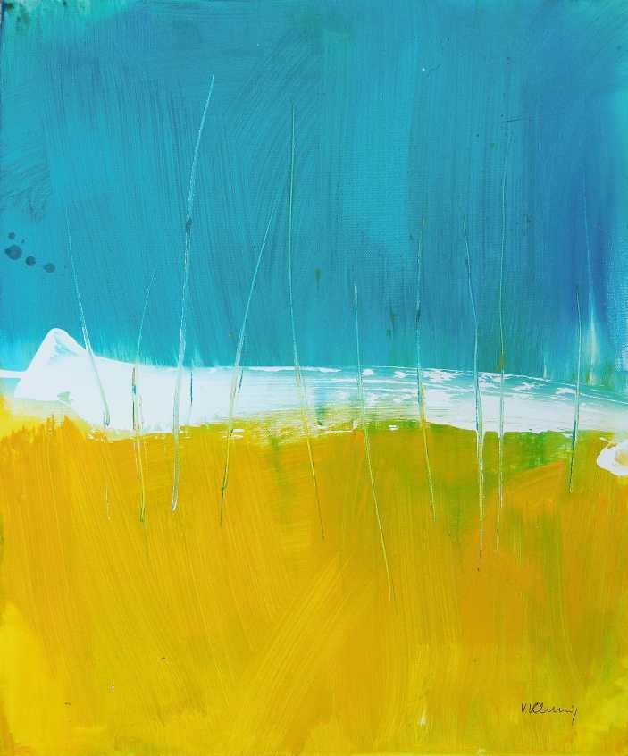 No. 378 Acrylic on canvas 50x 60 cm