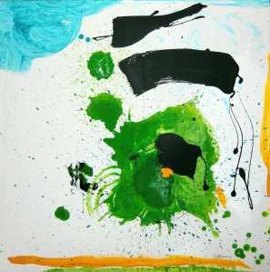 No. 379 Acrylic on canvas 70x 70 cm