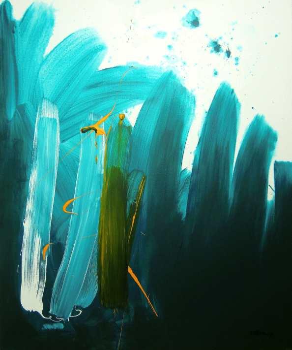 No. 385 Acrylic on canvas 120x 100 cm