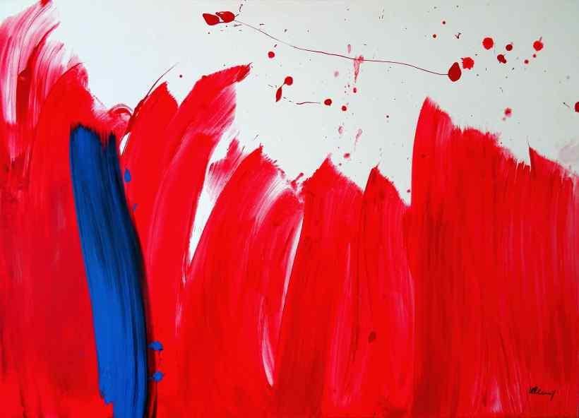 No. 398 Acrylic on canvas 100x 140 cm