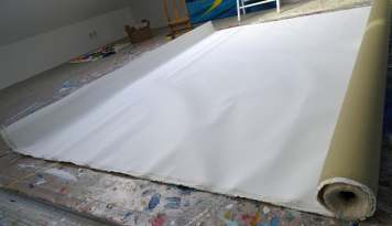 leinwand/ unstretched canvas