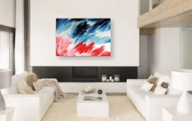 Flow IIAcrylic on canvas70 x 100 cm For example hanging on a wall, not for scale.