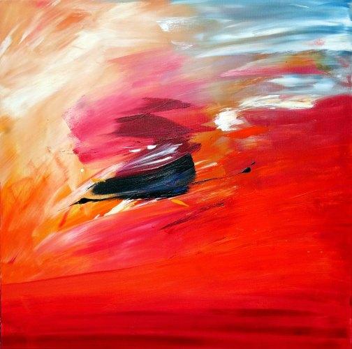 42 Acrylic on canvas 80x 80 cm