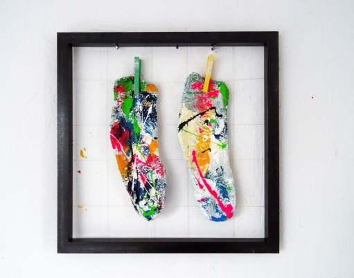 Bisse Vonne Socken With colored clips